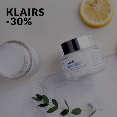 Klairs -30%
