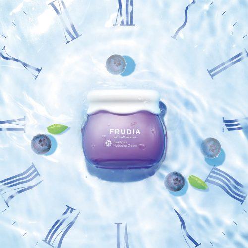 blueberry hydrating cream frudia 48h