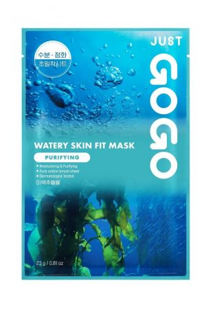 just gogo watery skin fit mask purifying